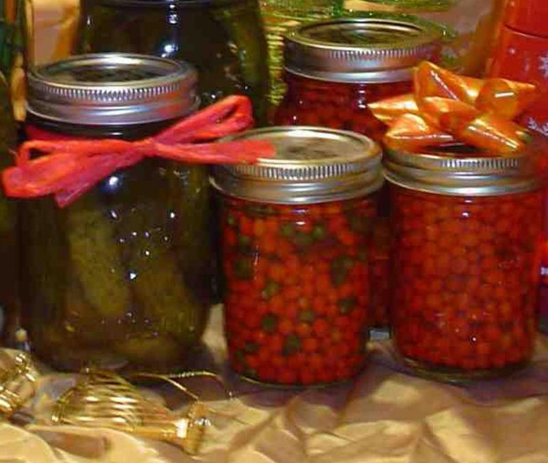 Helen Parks preserving harvest and sharing