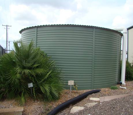 Rainwater Harvesting at VEG