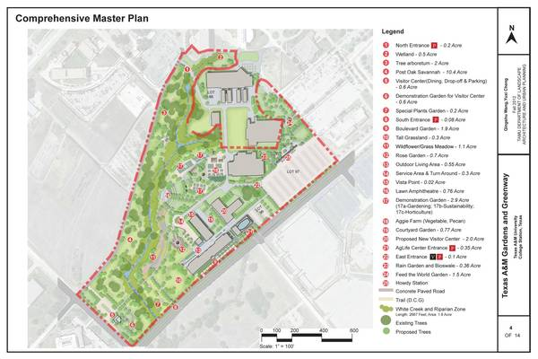 Greenway Project comprehensive master plan