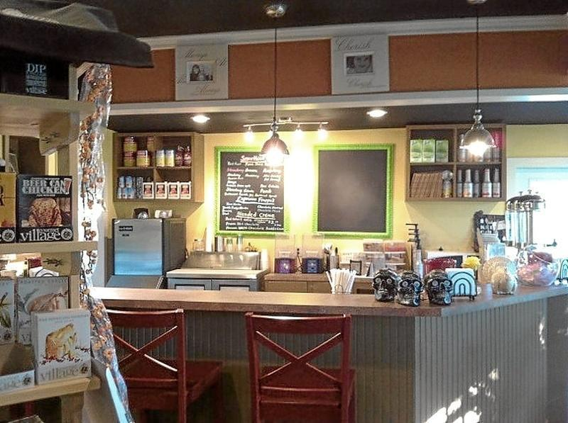 Recently renovated indoors at Devereux in Goliad provides new smoothie bar