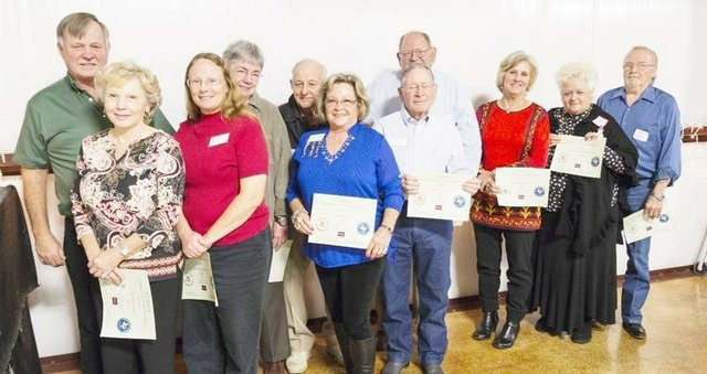 2013 VCMGA Top Ten% Volunteers