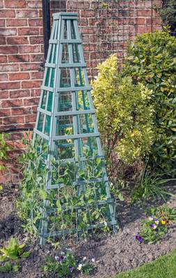 Obelisk Structure in garden